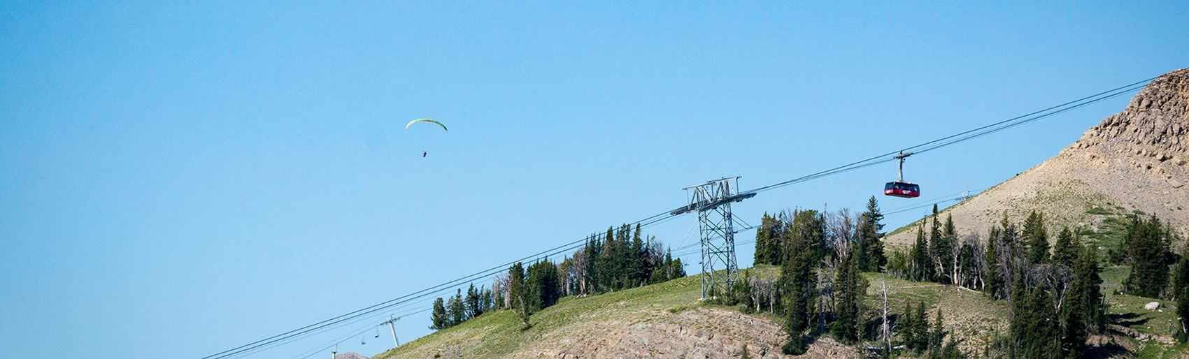 Paragliding in Jackson Hole
