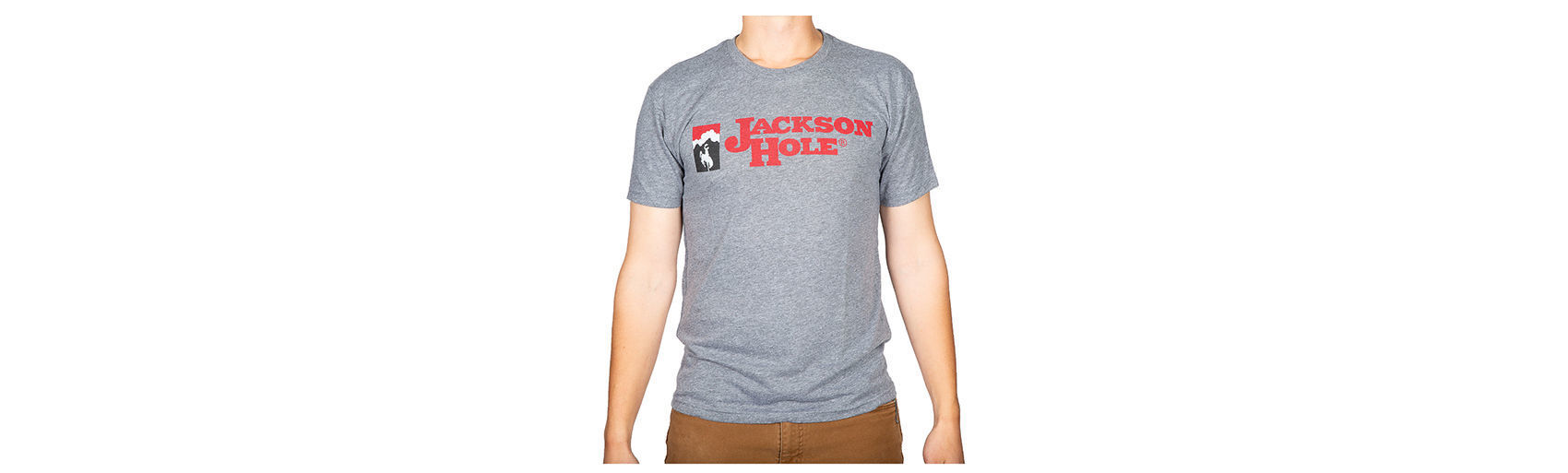 Picture of Jackson Hole Logo Tri-Blend Shirt - Adult