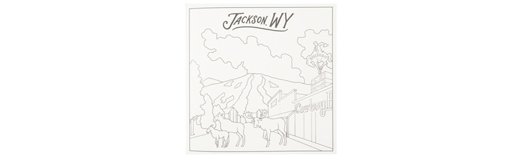 Picture of Jackson Hole Coloring Book